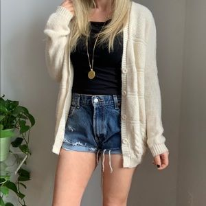 UO coincidence chance cardigan sweater s small